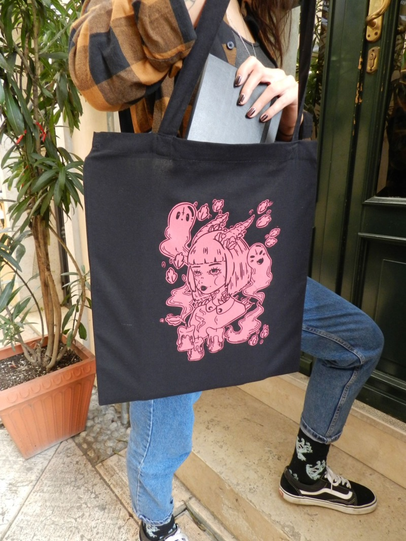 teen-witch-meow-pinky-black-shopper