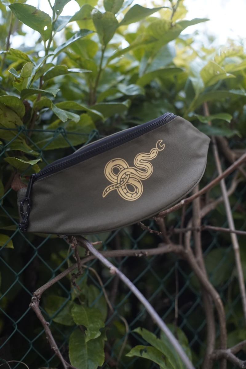 snaky-green-recycled-waistpack