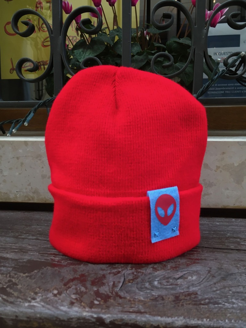 lotto-red-beanie-hat